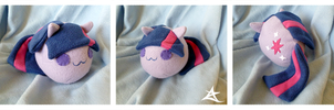 Twilight Sparkle Plush by AzureStarr