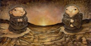Dawn of the Potato Priests by ursulav