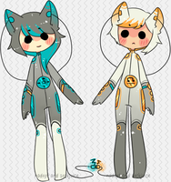 [Nasox collab: IFox Pair Auction] by sockjuice