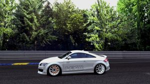 Audi HPA TT Glowing Brakes by whendt