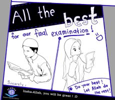 All the Best for Final Exam by alfi-ramadhani