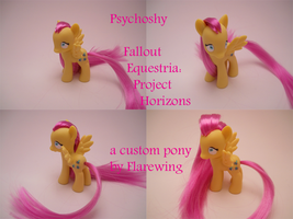 FoE:PH Psychoshy by flarewingpwny