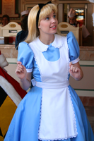 Alice has a thought by DisneyLizzi