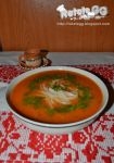 Tomato soup with noodles by DanutzaP