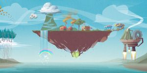floating island by ivanev