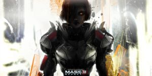 Mass Effect 3 Fanart   Romi Shepard by kww1991