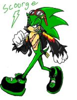 Scourge the Hedgehog by PieMakesMeHappy123