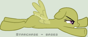 Come back here , Mr cupcake !! (Base 37 ) Pegasus by Starchase-Bases
