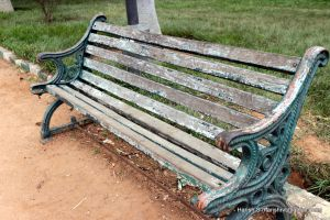 The Old Bench by harishrvt