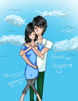 Hold on Tight, my love. by DaLittLeFreak