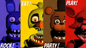 Fredbear's Family Diner - Rock! Eat! Party! Play! by DrooodleMew