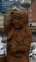 Wooden statue by Quinnphotostock