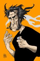 logan smoking... by kusta