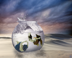 2 Lost Souls Living in a Fishbowl by Lindalees