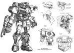 SGD Fed Mecha Front by Mecha-Zone