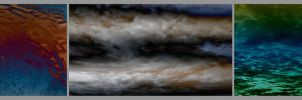 Texture of nature - cloud and water by Voyager168