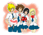 KH - Love ya All by CherryBlossoms24