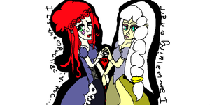 Emilie Autumn and Kerli by XRadioactive-FrizzX