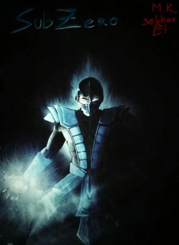 Sub Zero - Mortal Kombat concept art  by gebherEl