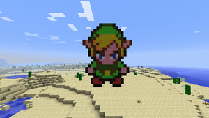 Pixel Art: Link - Minish Cap by ShadoBlackwings
