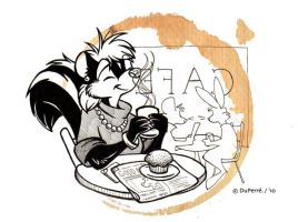 Ahhh... The Smell of Coffee by theInkMenagerie