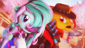 The pony, for which I will fight to the end! by SelestLight