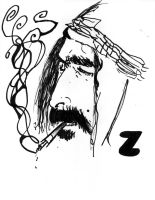 frank zappa by HamletTheDetective