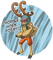 Chopper - Horn Point by Kame-Ghost