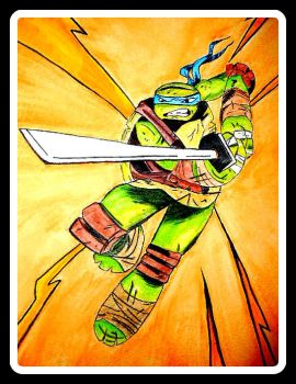 TMNT Leonardo 2 by Pirategurlbell