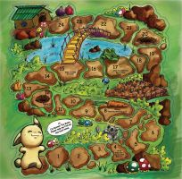 Bunneh The Bunnie Board Game by KinKiat