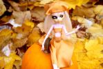 Pumpkin Sprite Monster High Custom by AliceWHatter
