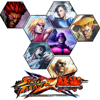 Street Fighter x Tekken Icon Hexagon Edition v2 by Ni8crawler
