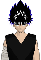 hiei cel-shaded 3 by GAME-ART-EDITED-ART