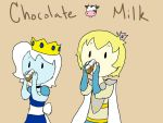 Chocolate Milk by AskIce-Princess