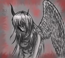 Fallen Angel's Anguish by rapperfree