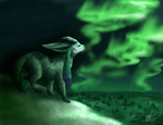 Glaceon's Lookout by MelvisMD