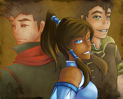 Legend of Korra by Seiteki9