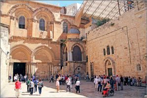 Church of the Holy Sepulchre by ShlomitMessica