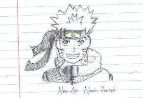 New Age Naruto Uzumaki by lordoffireVIII