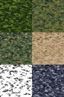 Camouflage variations by Master-at-Arms