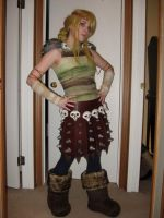 Astrid - WIP Costume - 2 by msventress