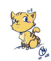 Cat Doodle 3 by selenaloong