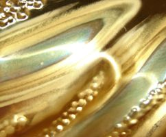 Shiny Brass Metal Texture by FantasyStock