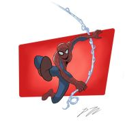 Amazing Spider-Man by BoukenRed