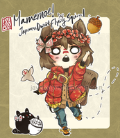 [Custom] Mamemoe! ver. Japanese Flying Squirrel by mayoujii
