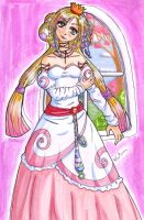 Princess coloured by Nuran-Cawthorne