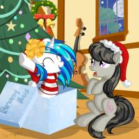 Christmas present by HappyKsu