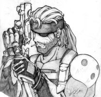 Snake - metal gear by dramegar