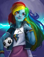 Rainbow Dash by cyanineblu
