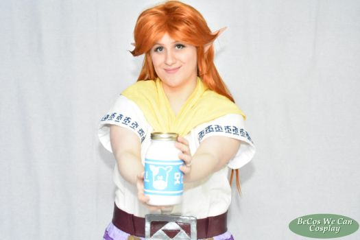 Have Some Lon Lon Milk by BeCos-We-Can-Cosplay